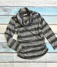Great Expectations Maternity Womens Sweater sz.L 12-14 Gray