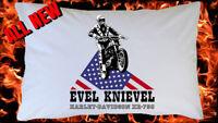 EVEL KNIEVEL Harley Davidson Stunt Man Retro Vintage MEN'S & WOMEN'S T SHIRT