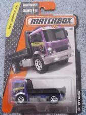 Voitures, camions et fourgons miniatures noirs Matchbox 1:64
