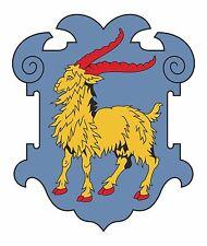 Istria Escudo De Armas Bandera pegatina de parachoques etiqueta nueva