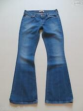 Levi's® 476 Slim Boot Schlag Jeans Hose W 30 /L 30, Faded Washed Hippie Denim !