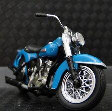 1940s Harley Davidson Motorcycle Model Easy Rod Custom Rider Touring Bike  1 24
