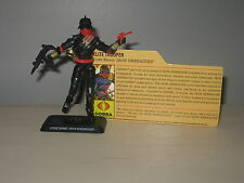 "GI Joe 25th IRON GRENADIER Red Gun Figure Comic 2-Pack 3.75"" File Card Loose"