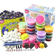 24 Color Modeling Clay Plasticine Soft Clay for Kids DIY Craft Education Toy