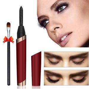Electric Eyelash Curler Pen USB Charging Beauty Makeup Long Last Eye Lash Tools