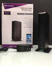 NETGEAR N300  WiFi  Cable Modem Router Model C3000