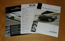 BMW 3 Series AC Schnitzer Brochure 2002 - E46 Coupe Convertible Saloon Touring