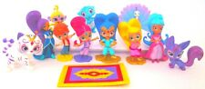 SHIMMER AND SHINE 12 Figure Set NICKELODEON PVC TOY Cake Topper NAZBOO Zeta ZAC!