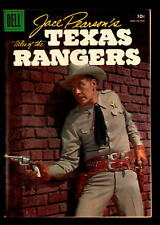 JACE PEARSON of the TEXAS RANGERS #12 VF/NM  DELL SILVER AGE TV WESTERN (1956)