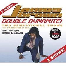 James Brown - Double Dynamite! CD + DVD Video POP R&B SOUL NEW+