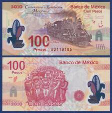 MEXIKO / MEXICO  100 Pesos 2007 / 2010 Polymer UNC  P.128 a