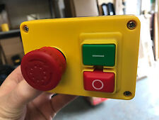 A NVR (No Volt Release) Stop/Start & Emergency Stop Switch 220v/240v