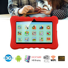 7inch HD Google Android 4.4 8GB Dual Camera WIFI 3G Tablet PC for Kids Children