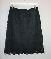 Millers Brand Black Lace Smart Day Skirt Size 12 BNWT #SP99