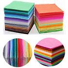 40pcs Crafts Non Woven Sewing Dolls Felt Fabric Bundle Polyester Cloth 15x15cm