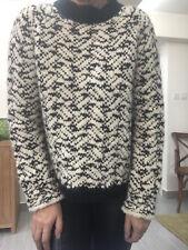 TWENTY8TWELVE By Sienna Miller Black & White Wool Chunky Knit Jumper S