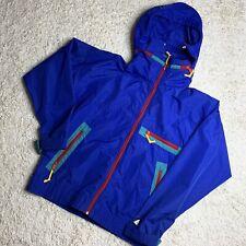 Vintage Sierra Designs Lightweight Jacket M Color Block Full Zip Windbreaker