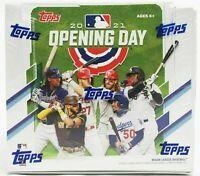 2021 Topps Opening Day Baseball Factory Sealed Hobby Box