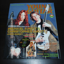 YOUNG GUITAR MAGAZINE Japanese Lang ~ Michael & Christopher Amott ~ Nov 2007