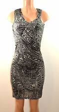 Kenneth Cole New  York Modern Prism Sleevele  Drapey  Dress,   X-Small