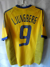 EXCELLENT!!! MEGA RARE!!! LJUNGBERG ARSENAL 2002-03 Sweden Home Jersey Shirt S