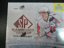 2013-14 UD SP GAME USED HOCKEY HOBBY SEALED BOX