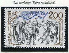 STAMP / TIMBRE FRANCE OBLITERE N° 2139 EUROPA LA SARDANE