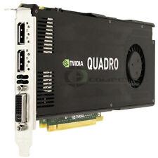 DELL NVIDIA QUADRO K4000 3GB PCIE 2.0 X16 GRAPHICS CARD CN3GX