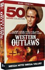 Western Outlaws 50 Movies Fifty (marlon Brando Jack Palance ) Region 1 DVD