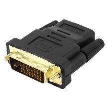 Adaptador Conversor HDMI Hembra a DVI 24+1 Macho Conector Clavija T5