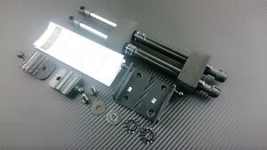P2M Phase 2 BLACK Series Hood Bonnet Dampers Set For Nissan 370z Z34 09+ New