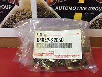 TOYOTA OEM 11-14 FJ Cruiser Brake-Rear-Brake Pads Hardware Kit 0494722050