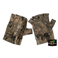 NEW BANDED FINGERLESS TURKEY GLOVES REALTREE TIMBER CAMO MEDIUM / LARGE
