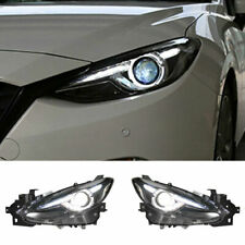 For Mazda 3 Axela Led Headlights Projector Hid Drl 2014 2016 Replace Oem Halogen Fits Mazda 3