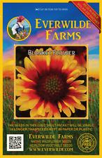 500 Blanket Flower Wildflower Seeds - Everwilde Farms Mylar Seed Packet