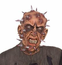 SCARY NAILED FACE ZOMBIE ADULT HALLOWEEN COSTUME MEN SIZE STANDARD