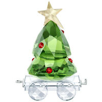 Swarovski Crystal Creation 5399977 Christmas Tree Wagon RRP $129