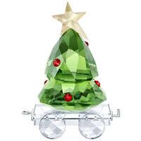 Swarovski Crystal Creation 5399977 Christmas Tree Wagon RRP $129