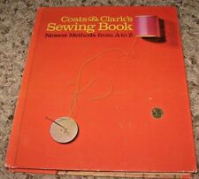 VINTAGE~COATS & CLARK'S SEWING BOOK~A TO Z~1967~HC NO DJ~GC