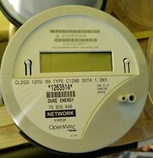 New CENTRON CL200 120V 3W Type C12NB 30TA 1.0Kh Electric Meter OpenWay by Itron