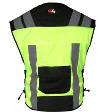 High Visibility Safety Vest Hiviz Motobike Motorcycle Reflective Security