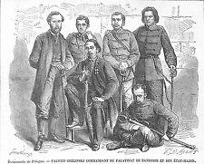 POLOGNE POLAND FAUSTIN GRELINSKI SANDOMIR GRAVURE ILLUSTRATION 1863