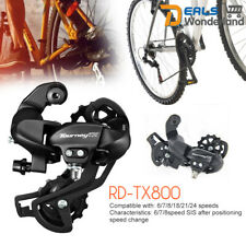 Shimano Tourney RD-TX800 6/7/8 Speed TX Rear Derailleur Mech Direct Mount Black