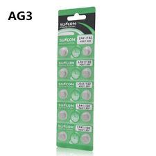 10x AG3 SG3 LR41 192 1.55V Batteries LR736 SR736 Button Coin Cell Battery Pack