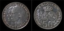 België Boudewijn I 50 frank 1958 - Koninklijk huwelijk 1958
