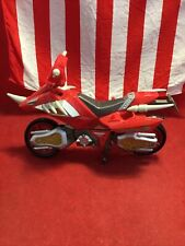 2004 Power Rangers Dino Thunder Red Ranger Cycle Convertible Motorcycle????