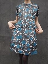 Kleid M 50er Rockabilly 60er day dress Blumenmuster TRUE VINTAGE floral 50s