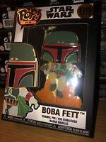 Boba Fett Funko Pop Enamel Pin 09 Star Wars Loungefly Mandalorian Brand New