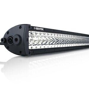 42 Inch Double Row LED Light Bar OSRAM Combo 5700K GEMTEK Phantom