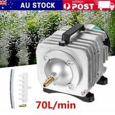 70L/min Commercial Air Pump for Aquarium Fish Tank Hydroponics Pond 220V